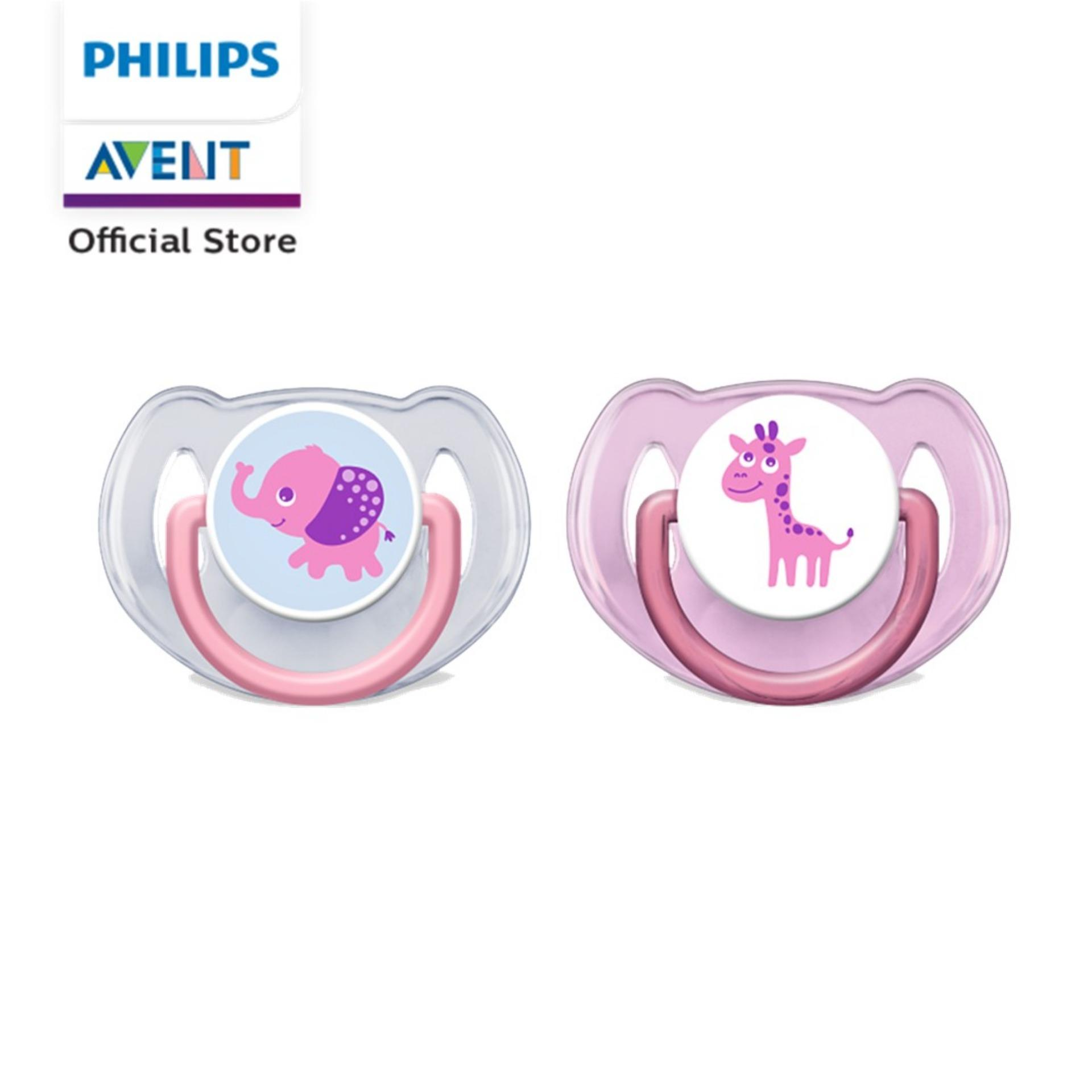 Philips Avent Soothie Pacifier 2 Pack Blue Price In Singapore Orthodentic Soother 6 18m Pink Scf 195 22twin Pack6