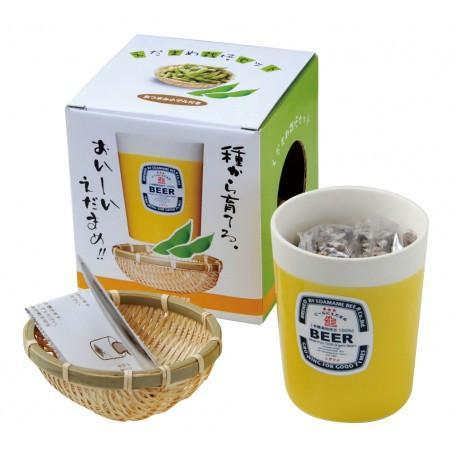SEISHIN - Edamame Cultivation Set / Growing Kit Plants