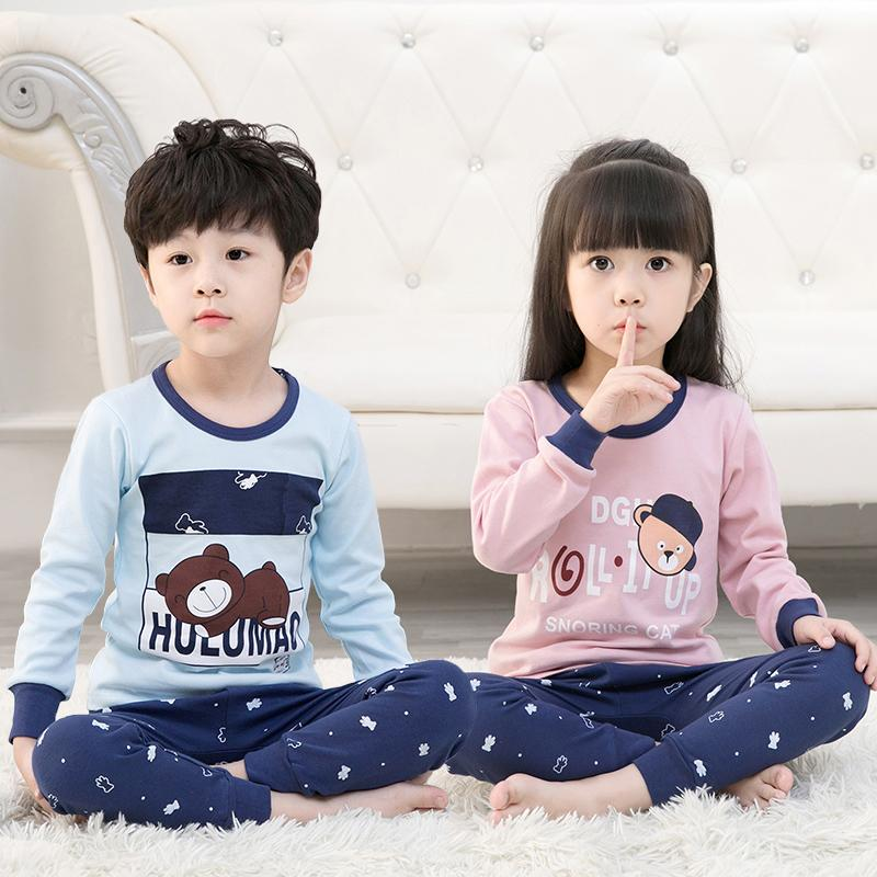 Big Kids Pyjamas /children Family Couple Pyjamas Set Up To Size 180cm Boys [pjn17] By Jolly Sg.
