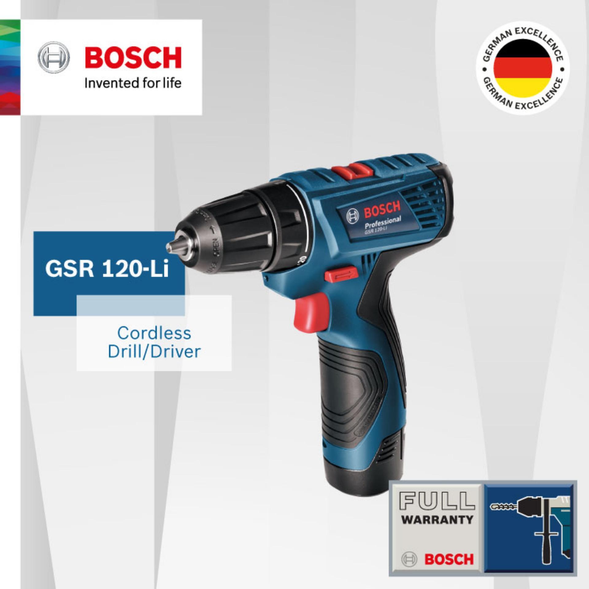 List Price Bosch Gsr 120 Li Cordless Drill Driver Bosch