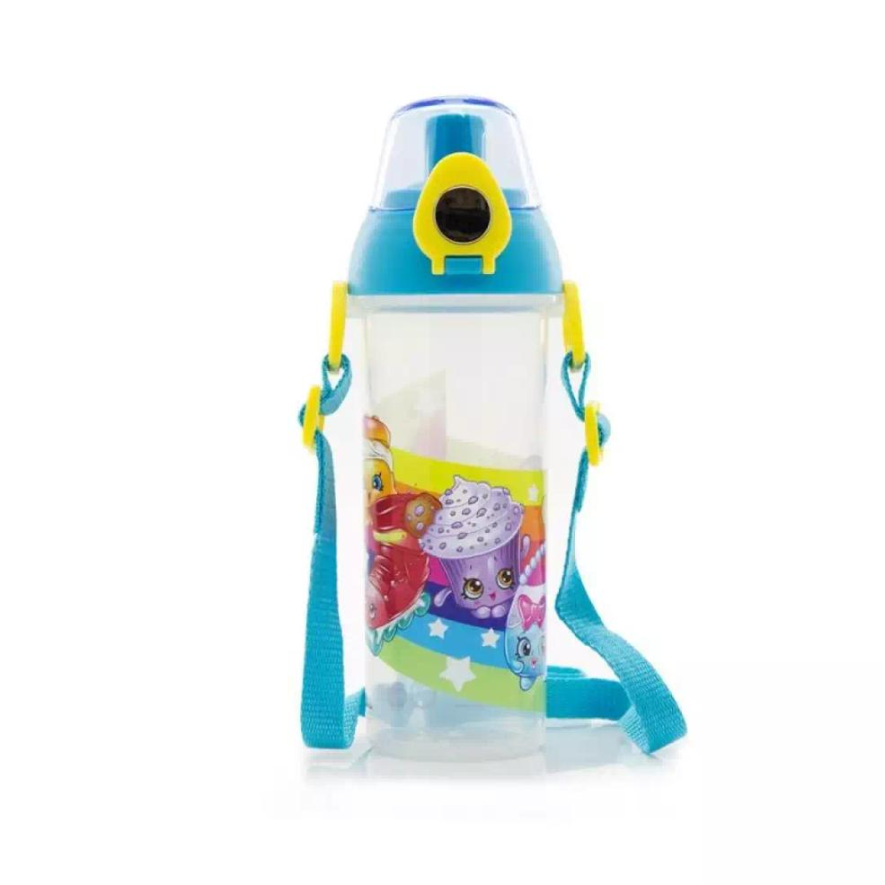 Low Cost Shopkins Bpa Free Water Bottle 530Ml