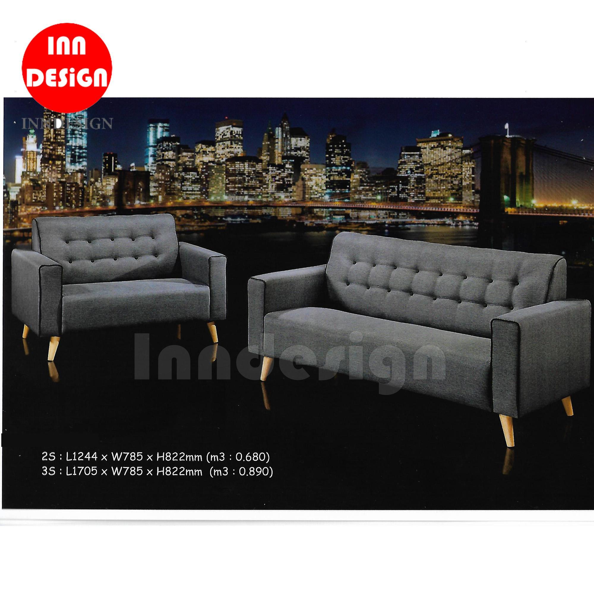 Annie 2+3 Sofa Set (free Installation & Installation) By Inndesign.