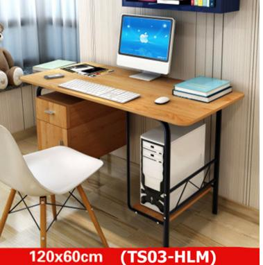 DIY Fashion design computer table with cabinet - TS03 (HLM)