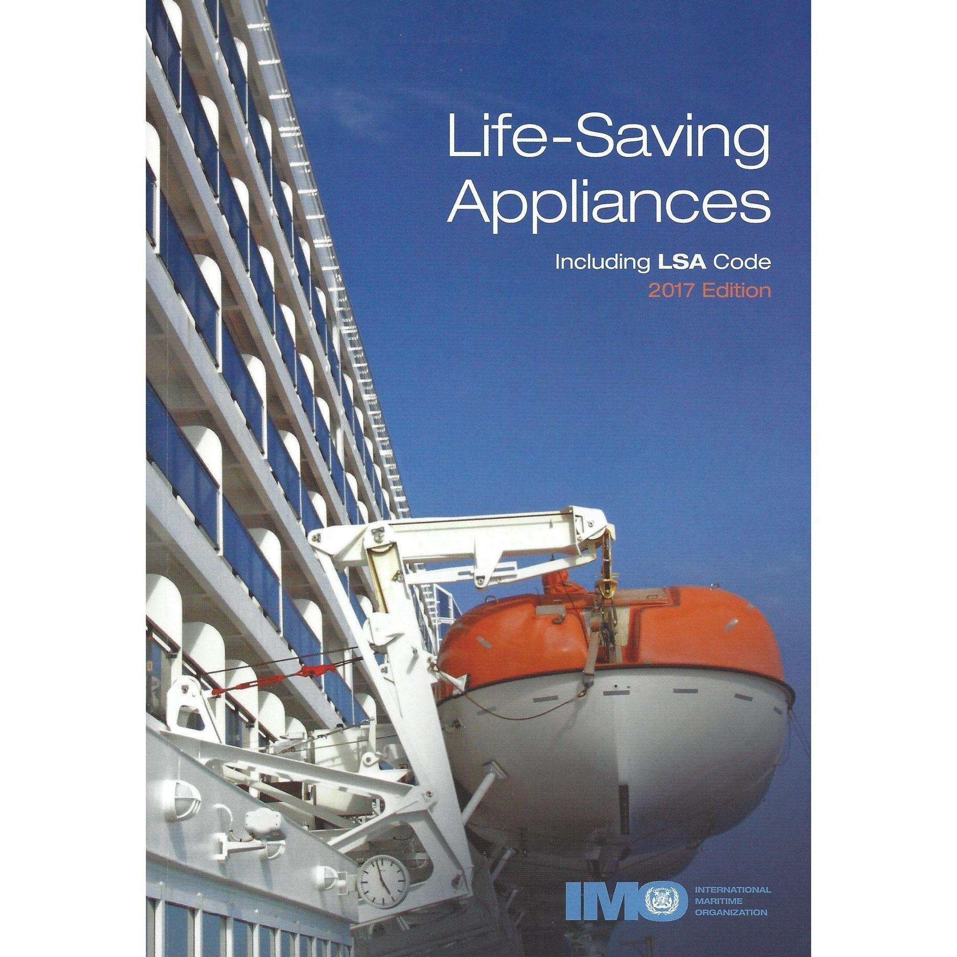 Life Saving Appliances including LSA Code 2017 Edition Books (IMO IE982E)