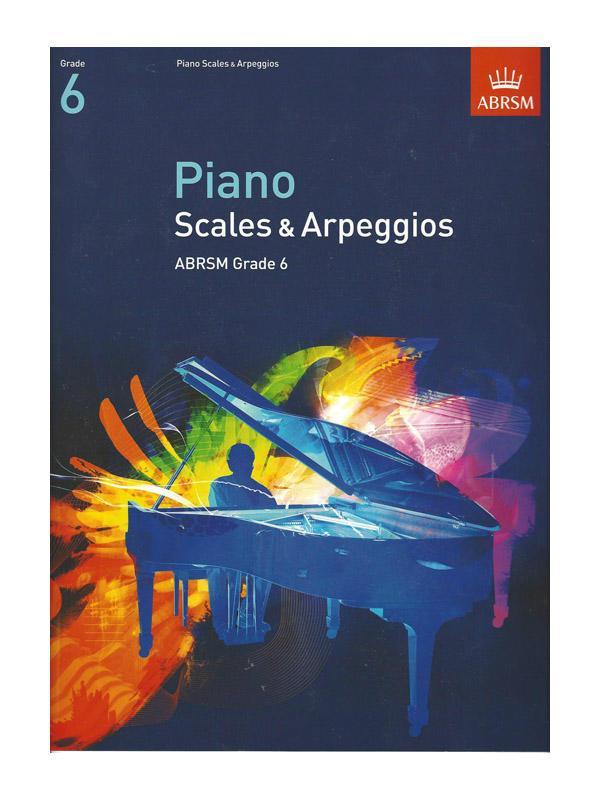 ABRSM Piano Scales & Arpeggios - Grade 6