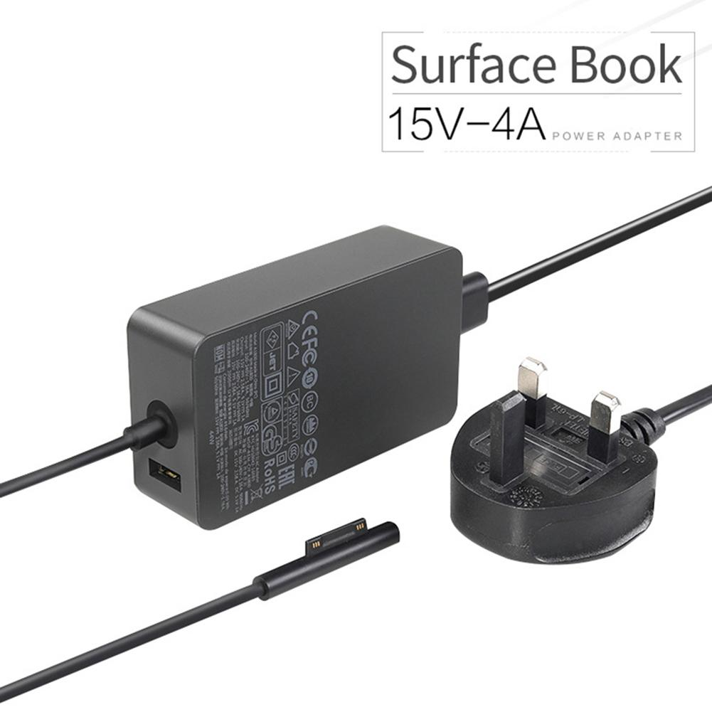 Surface Power Supply Adapter 65W 15V 4A For Microsoft Surface Book Surface Pro 3 Pro 4 With Power Cord Model 1706 Uk Us Eu Plug Ac Power Cord Intl Reviews