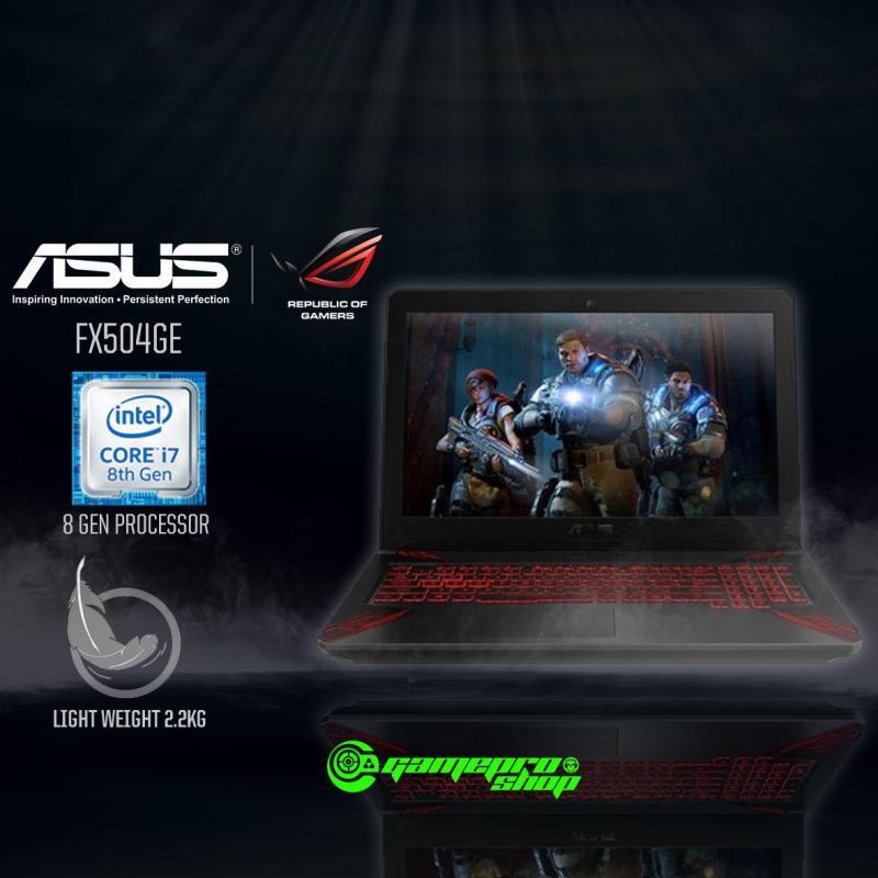 8th Gen ASUS FX504GE - E4183T (8th-Gen GTX1050Ti 4GB GDDR5) 15.6 Gaming Laptop