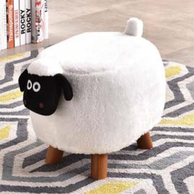 JIJI Kids Animal Ride Storage Chair Stool - Sheep w/o Storage / Childrens / Kids Storage / Storage Stool / Stool with Storage / Animal Stool / (SG)