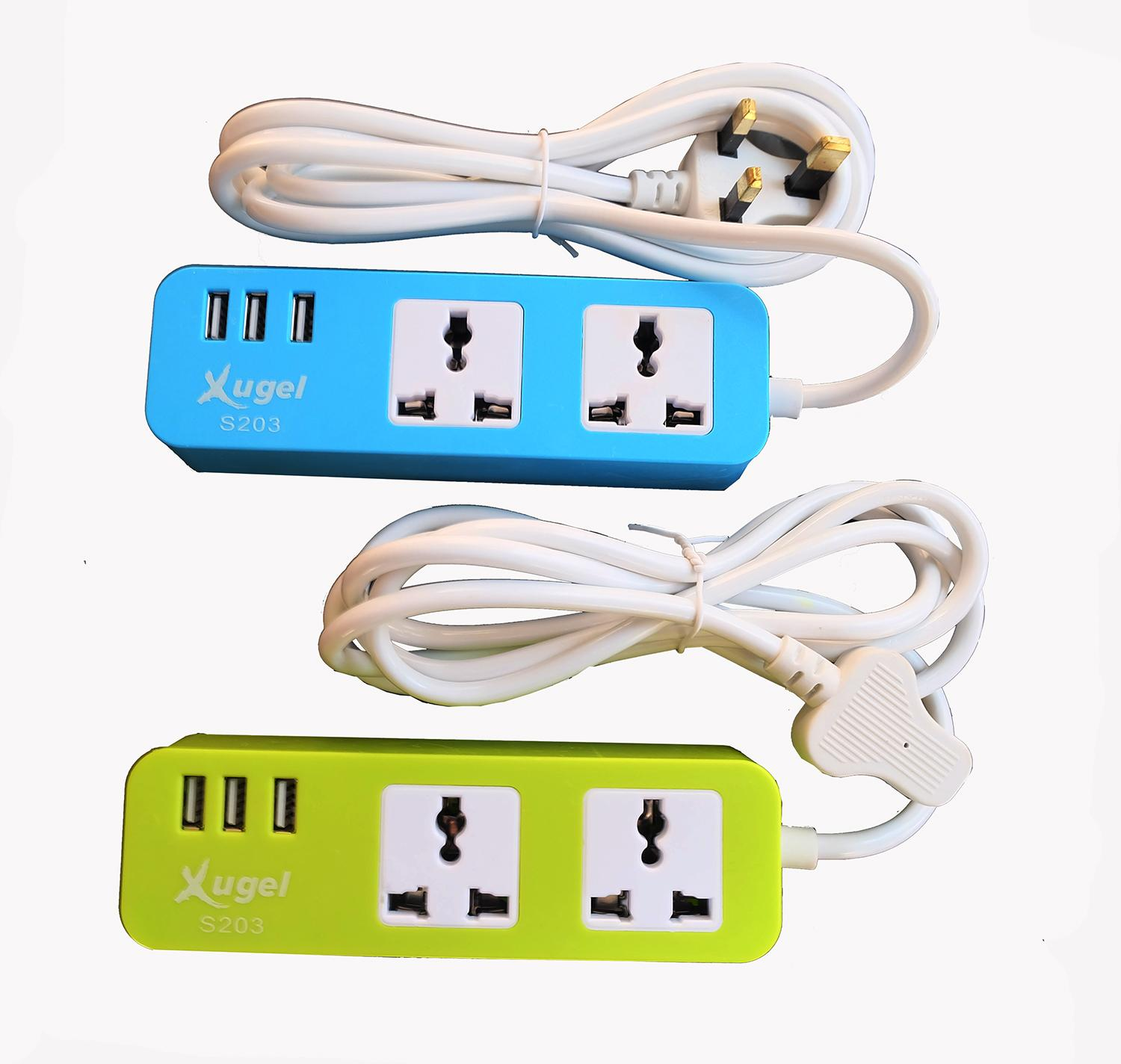 Buy High Quality Cables Leads Adapters Wiring An Outdoor Plug Socket Xugel Usb Power Box 2 Meter Cable Extension 3 Charger Port And