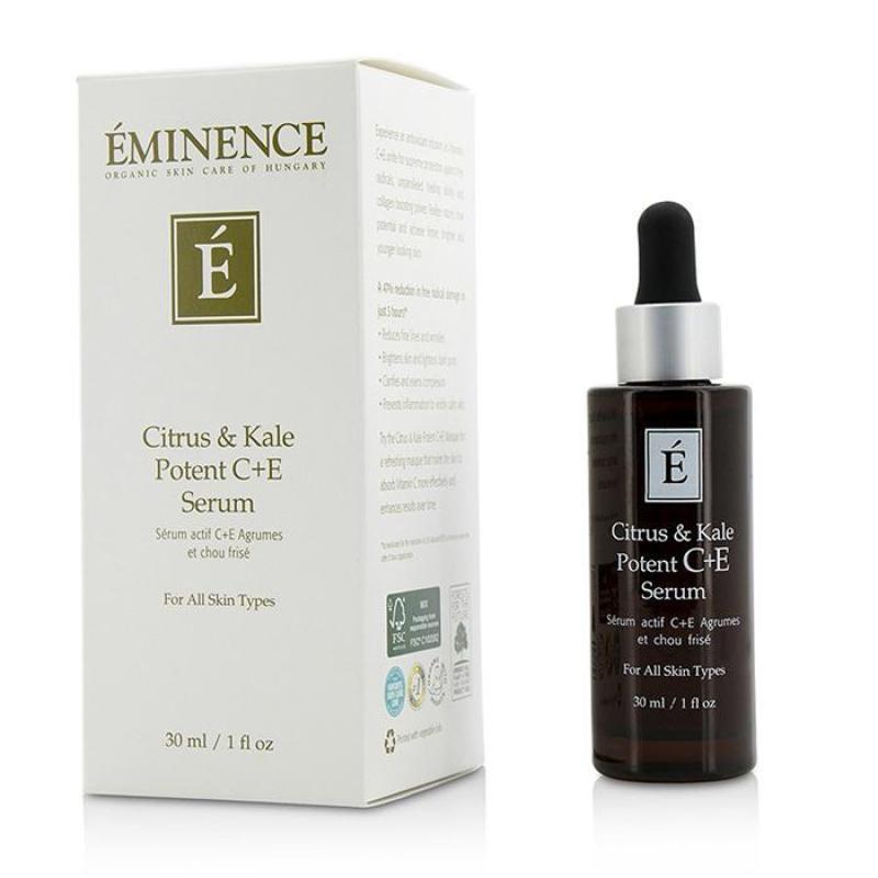 Buy Eminence Citrus   Kale Potent C+E Serum - For All Skin Types 30ml/1oz Singapore