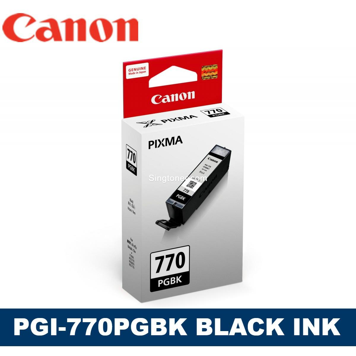 Compare Original Canon Pgi 770 Cli 771 Pgbk Black Cyan Magenta Yellow Grey Ink For Pixma Mg7770 Pixma Mg6870 Pixma Mg5770 Pgi770 Pgi 770 Cli771 Cli 771 Prices
