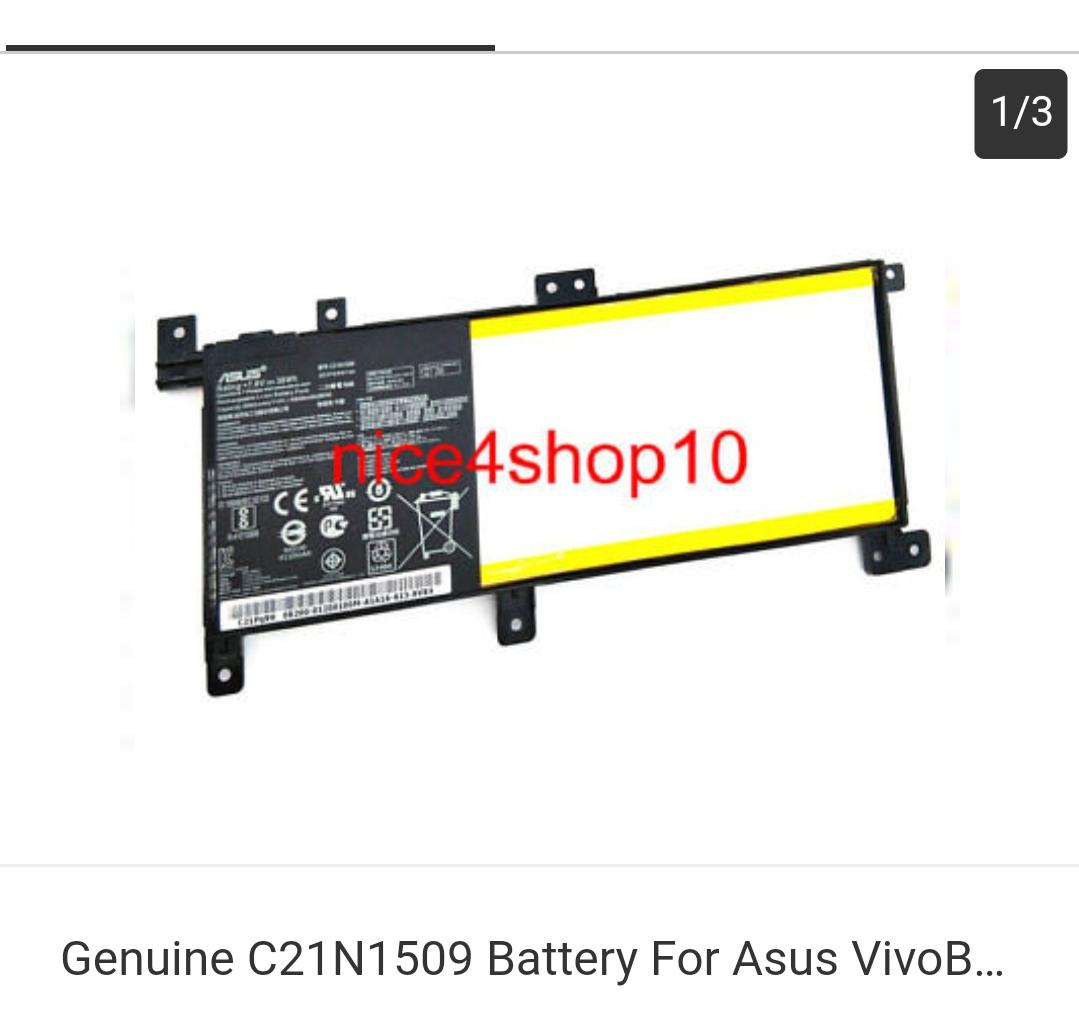 7.6v C21n1509 Battery for ASUS VivoBook X556 X556u X556ua X556ub X556uv X556uj