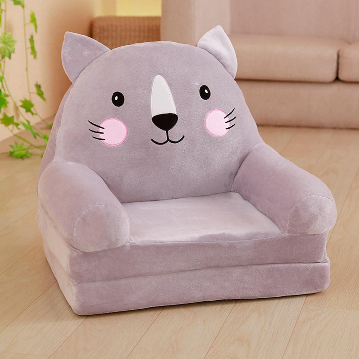 Cartoon Children Lazy Sofa Chair Single Person Tatami Modern Minimalist Bedroom Small Sofa Living Room Princess Style By Taobao Collection.
