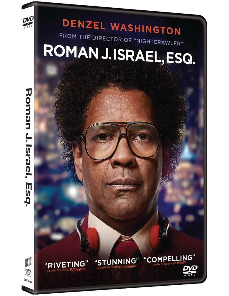 ROMAN J. ISRAEL, ESQ. DVD (M18/C3)