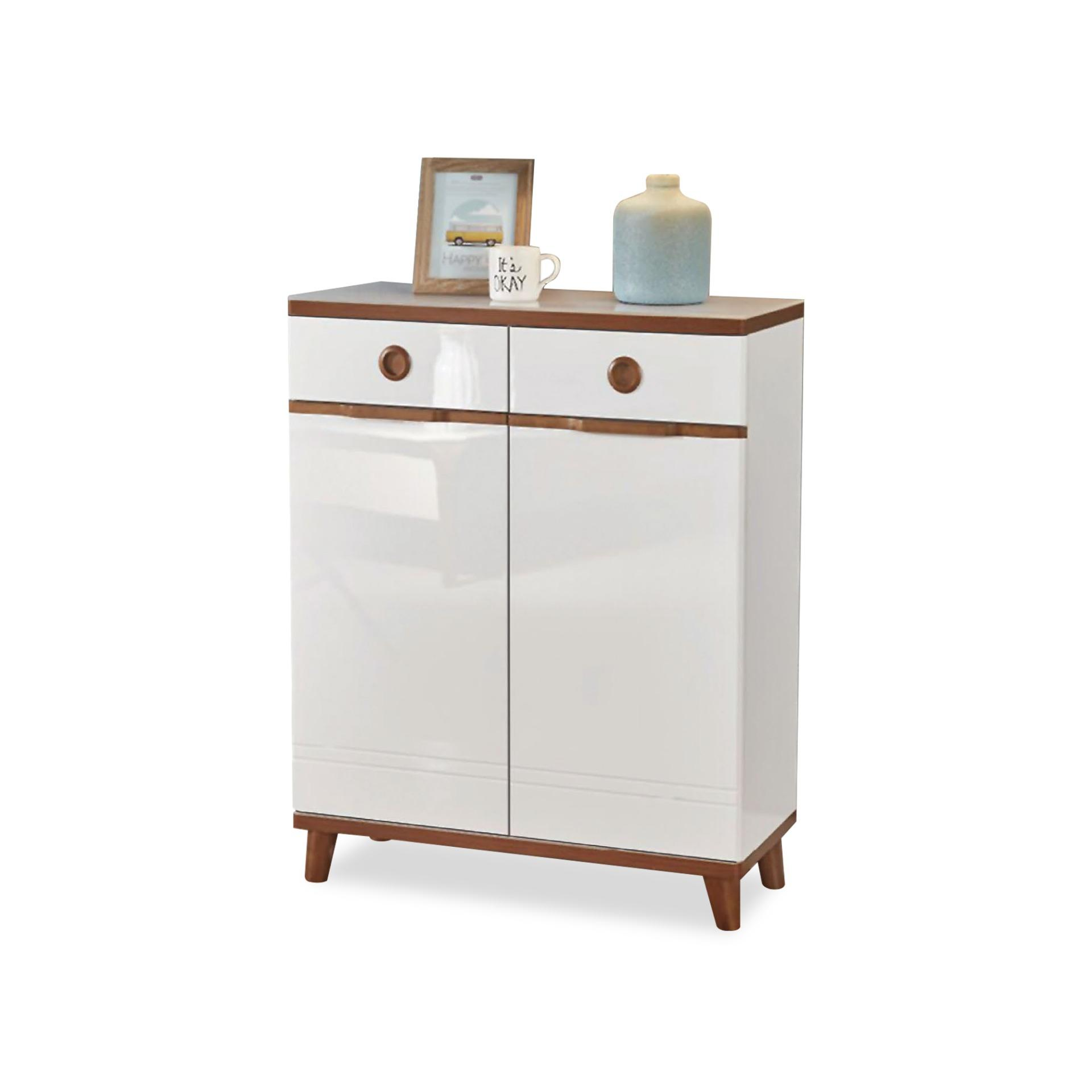 Solene 2 Door Shoe Cabinet (FREE DELIVERY)(FREE ASSEMBLY)