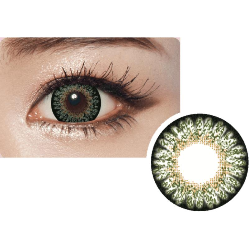 Geolica Princess Mimi (-1.00 degree) Green Contact lens