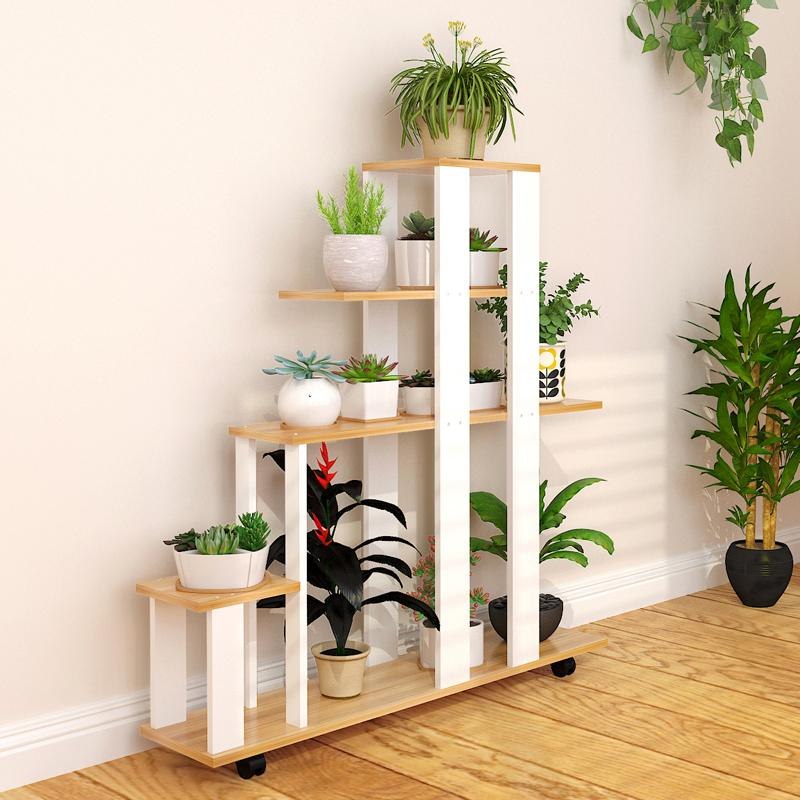 Indoor simple multi-functional flowerpot shelf pergola