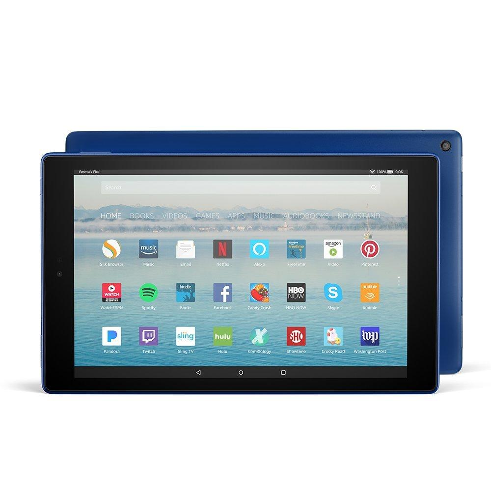 Sale Amazon Fire Hd 10 Tablet Blue With Alexa Hands Free 10 1 1080P Full Hd Display 32 Gb With Special Offers