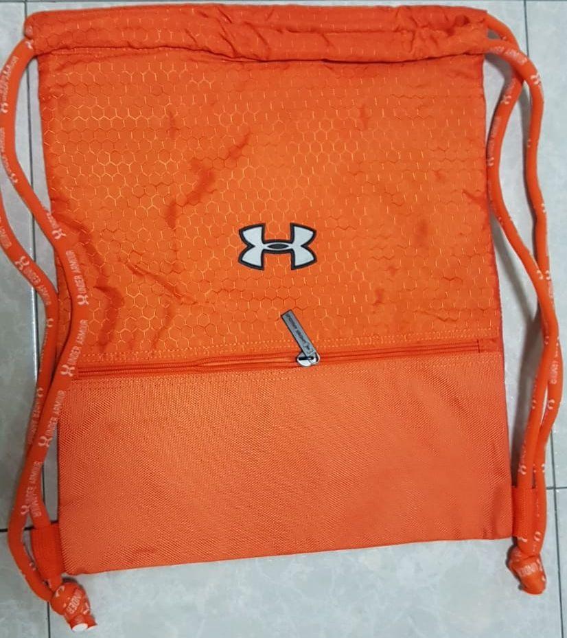 Under Armour GYM Bag - BEST Quality   Drawstring   Travel   Shoes   Sports   58f730e61ef6a