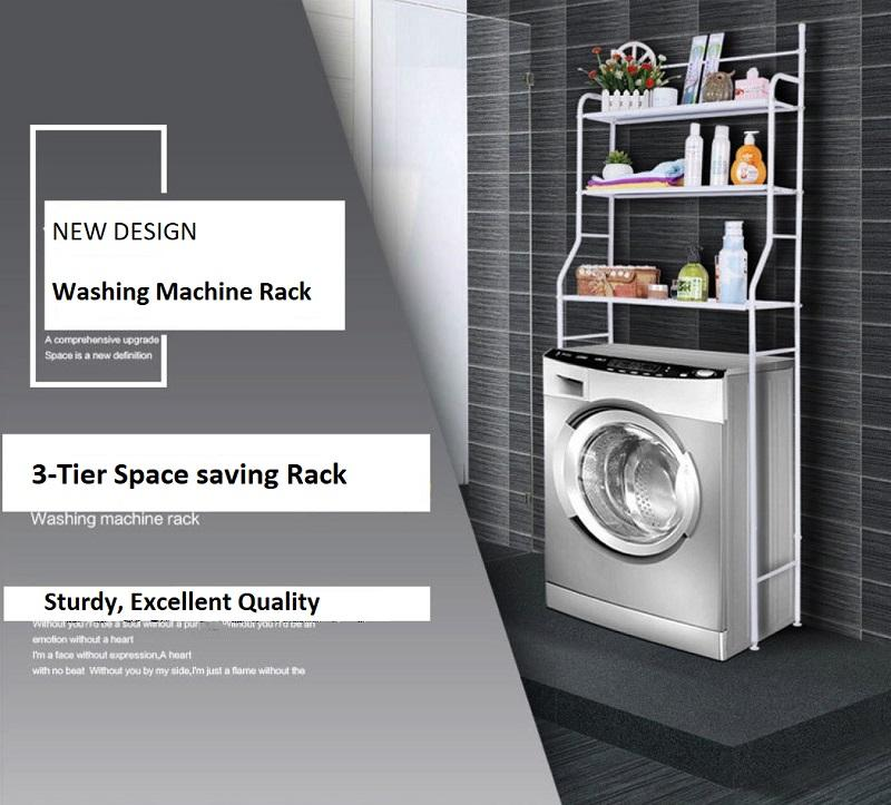 NOOKS - TVÄTTNING Washing Machine 3-Tier Space Saving Rack