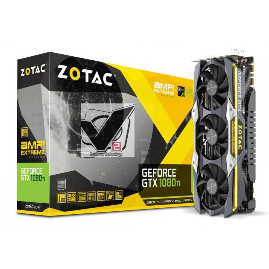Sale Zotac Zt P10810F 10P Geforce Gtx 1080 Ti Amp Extreme Core Edition 11Gb Gddr5X 352 Bit Gaming Graphics Card Vr Ready Zotac Online