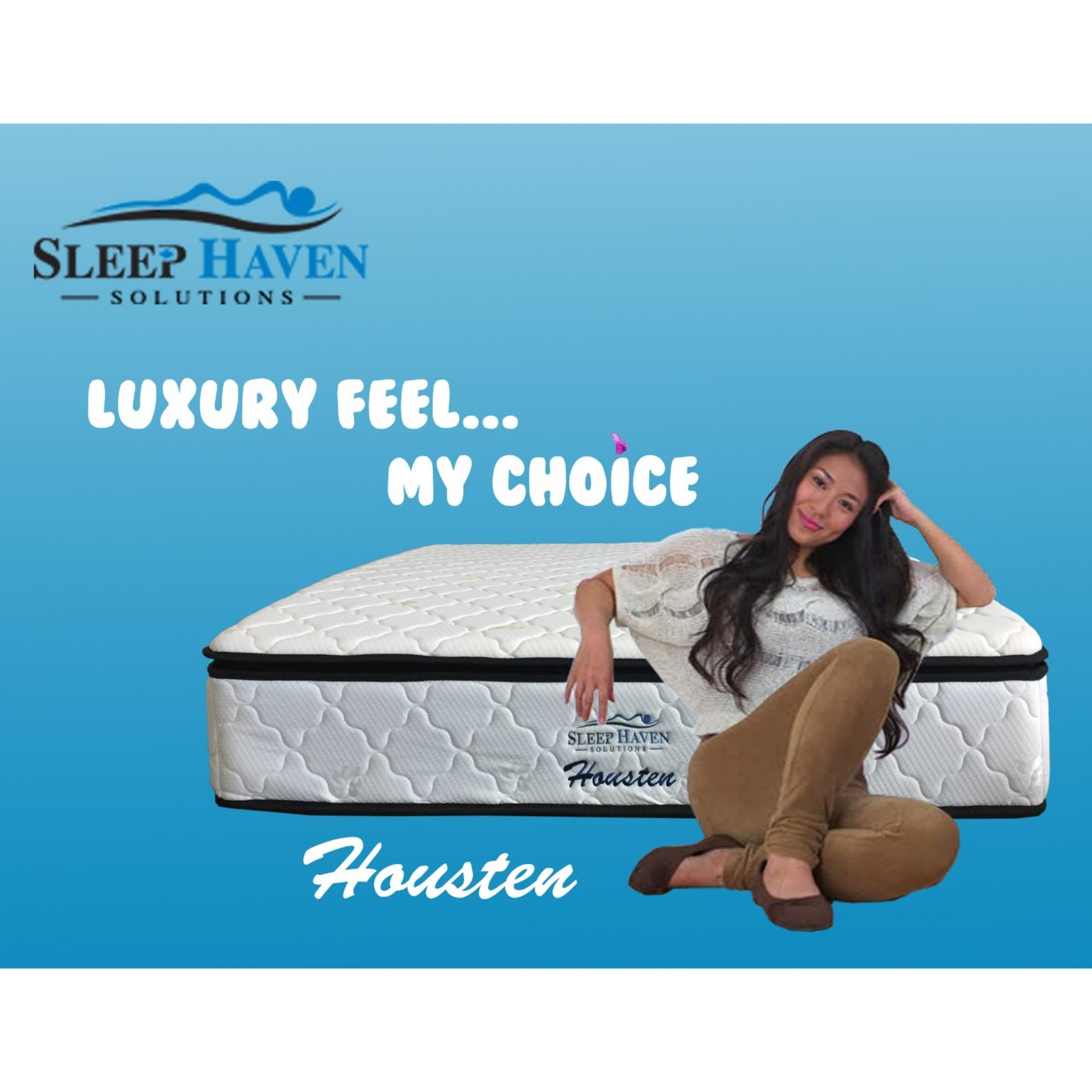 Sleep Haven Huasten 11 Pillow Top Bonnell Spring Mattress  Free Delivery