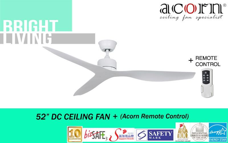 Acorn Intaglio Dc 159 Nl 52 Eco Ceiling Fan