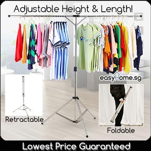 Low Price Retractable Laundry Rack Clothes Drying Hanger