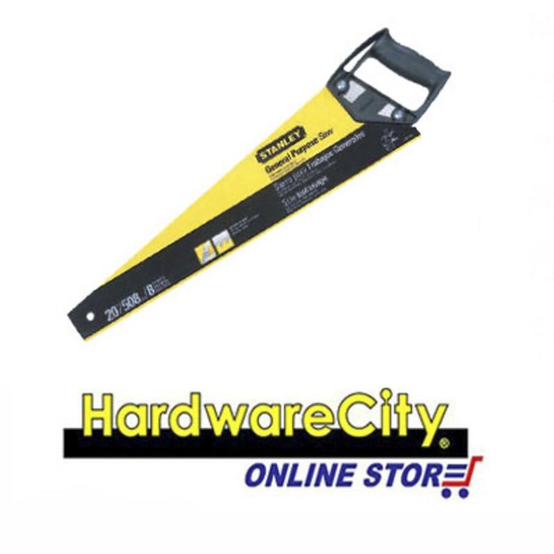 Stanley General Purpose Hacksaw (CrossCut Series) - 22 / 550mm 6PT [20-082]