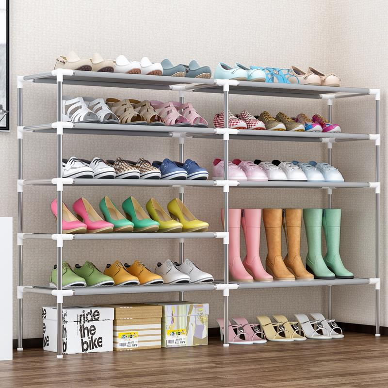 MWT1 Simple Shoe Rack Multilayer Household Storage SHOEBOX Minimalist Modern Economy Assembly Dustproof Shoe Rack Sub-