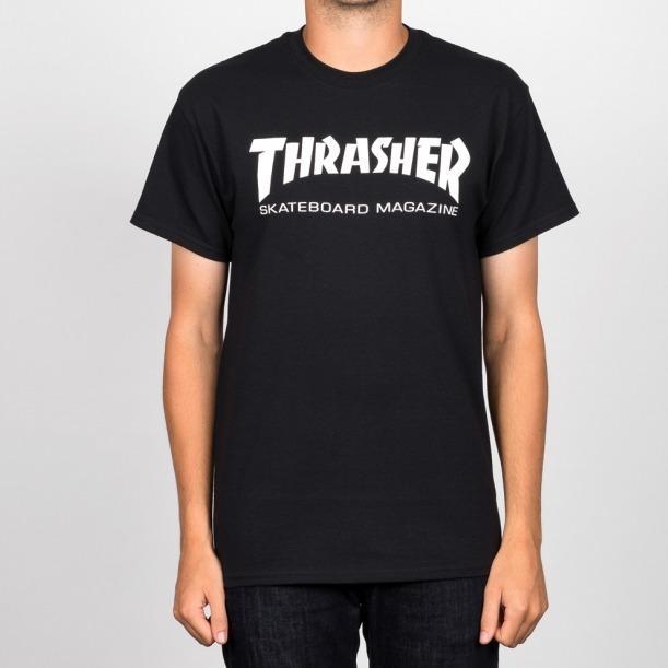 Thrasher Skate Mag T-Shirt Black 596f00345