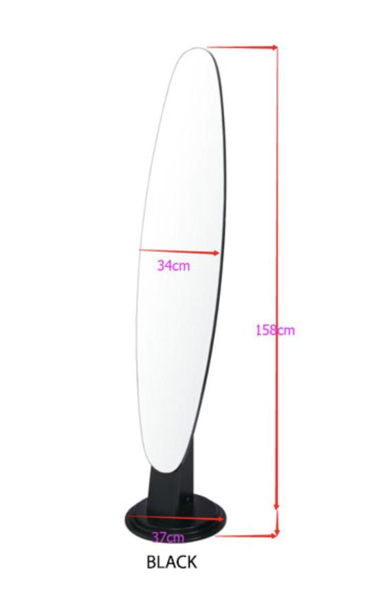 JIJI MDF Standing Mirror (Self-Assembly) - Mirrors / Furniture / Home Decoration (SG)