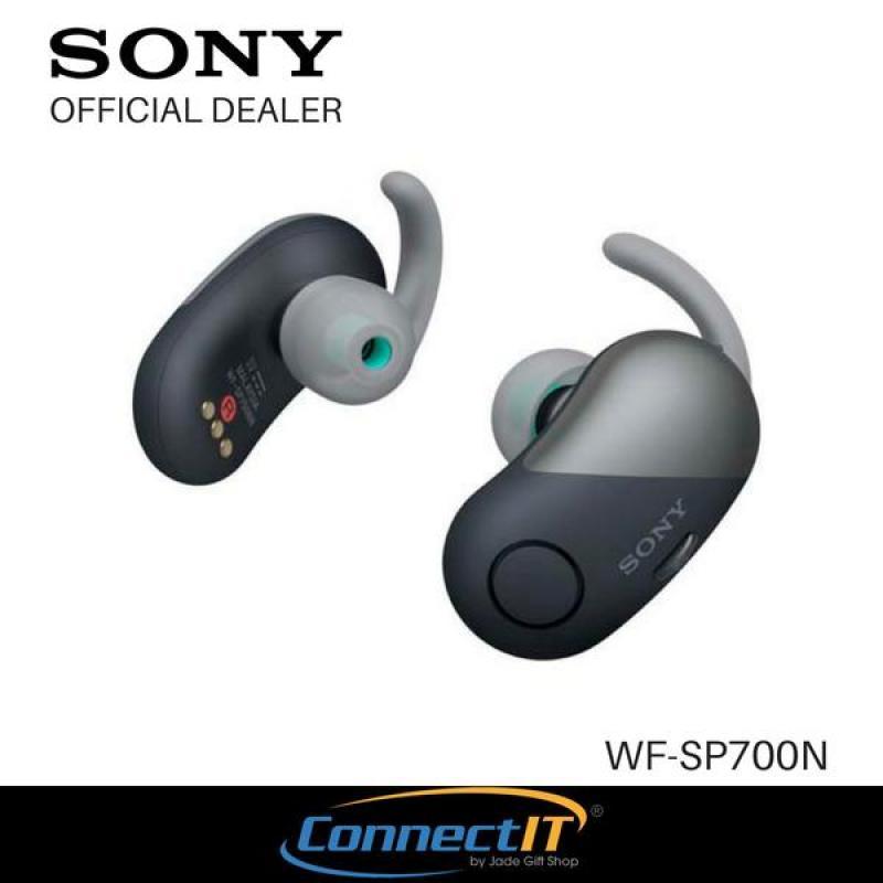 Sony WF-SP700N Wireless In-Ear Headphones with 1 Year Warranty (Black) Singapore