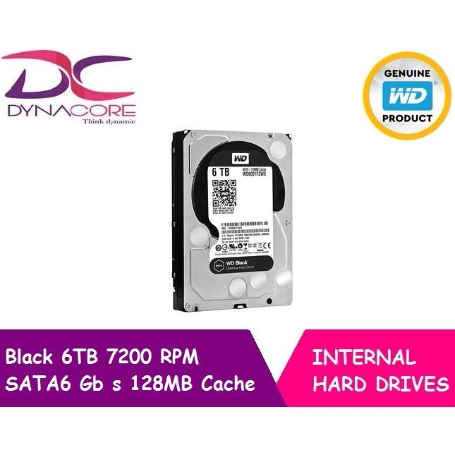 Western Digital Wd Black 6Tb Performance Hard Disk Deal