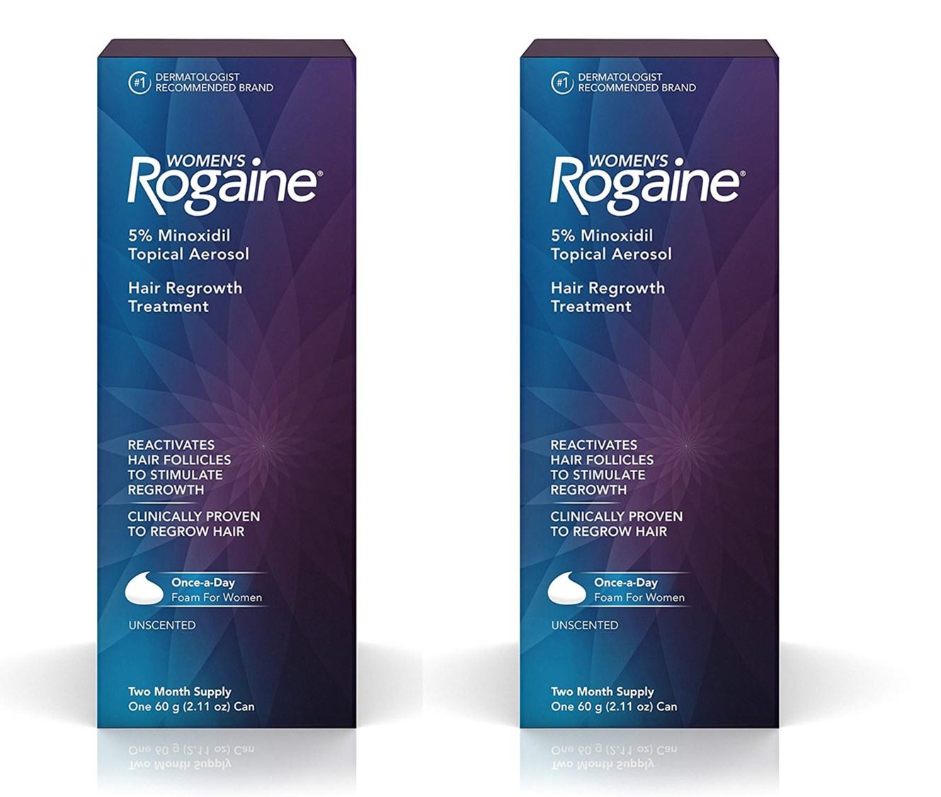 Buy Rogaine Solution Hair Regrowth Foam Minoxidil Topical Aerosol Women For Loss And Regrowth2 X 2 Months Supply