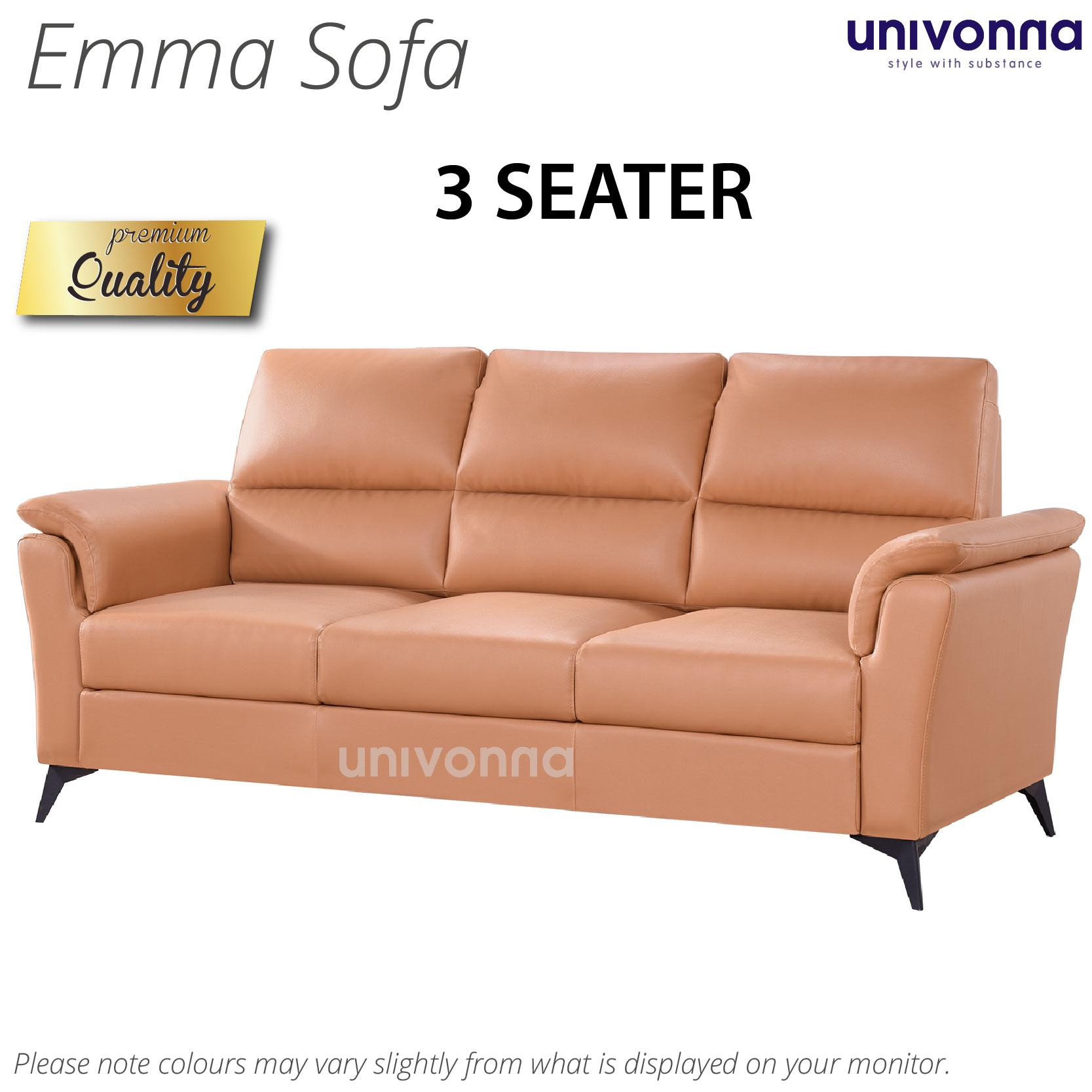 Emma ★ 3-Seater Sofa★Furniture★Living room sofa★Premium★Comfortable★Color Choices