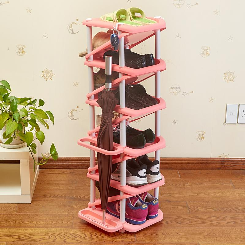 Shoe Rack Multilayer SHOEBOX Simplicity Plastic Multi-functional Multilayer Minimalist Modern Special Offer Economy Storage Assembly Household