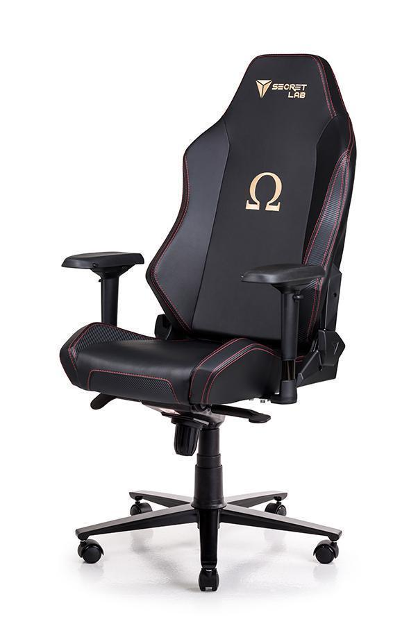Secretlab OMEGA 2018 Series PRIME PU Leather Gaming Chair - Stealth