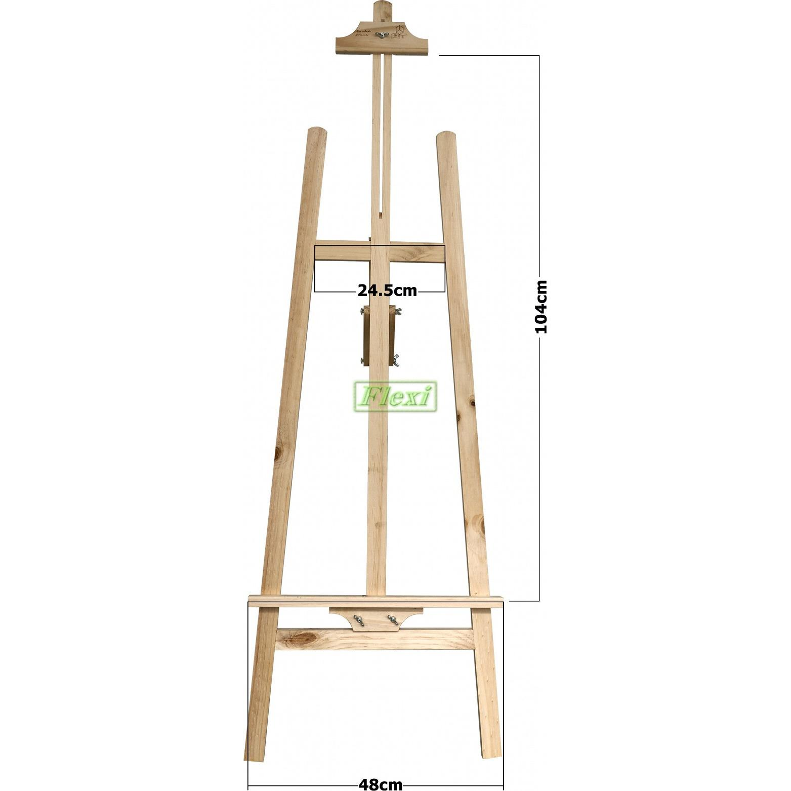 Buy Home Art Easels Tripod Wooden Lazada Sg