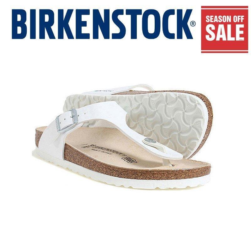 be9c342ccb8 (Season off SALE~) Classic Birkenstock Narrow 043733 Womens Birkenstock  Gizeh White Birko-