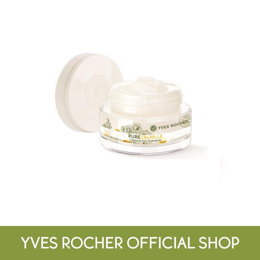 Yves Rocher Pure Calmille Day Night Moisturizing Face Cream 50ml By Yves Rocher Singapore (capitaland Merchant).