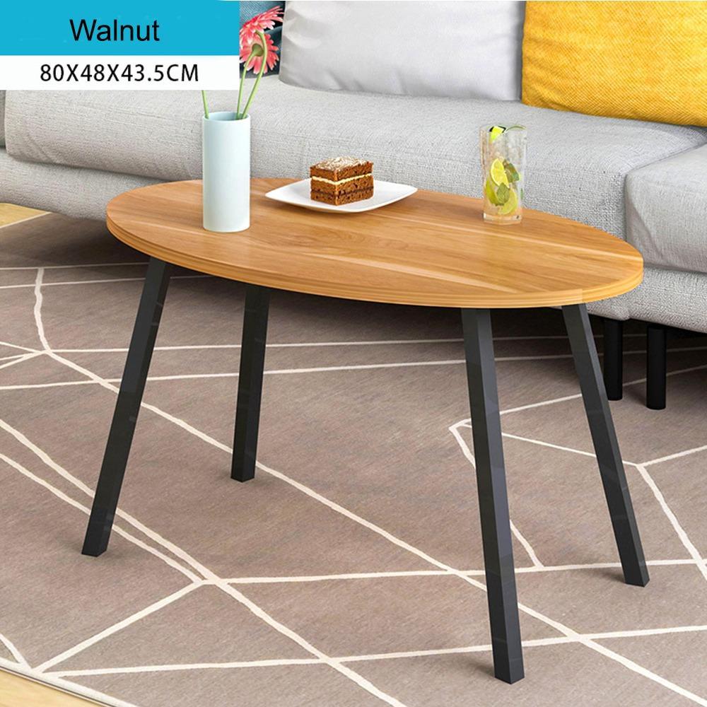 JIJI (Free Installation) Modernist Coffee Table 80CM  (Coffee Table)  Living Room Coffee Table/ Furniture/ Free 12 Months Local Warranty (SG)