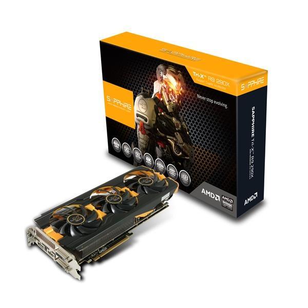 Sapphire R9 290X Tri-X 4GB Gddr5 4Ports Dual Dvi-D / Hdmi / Dp