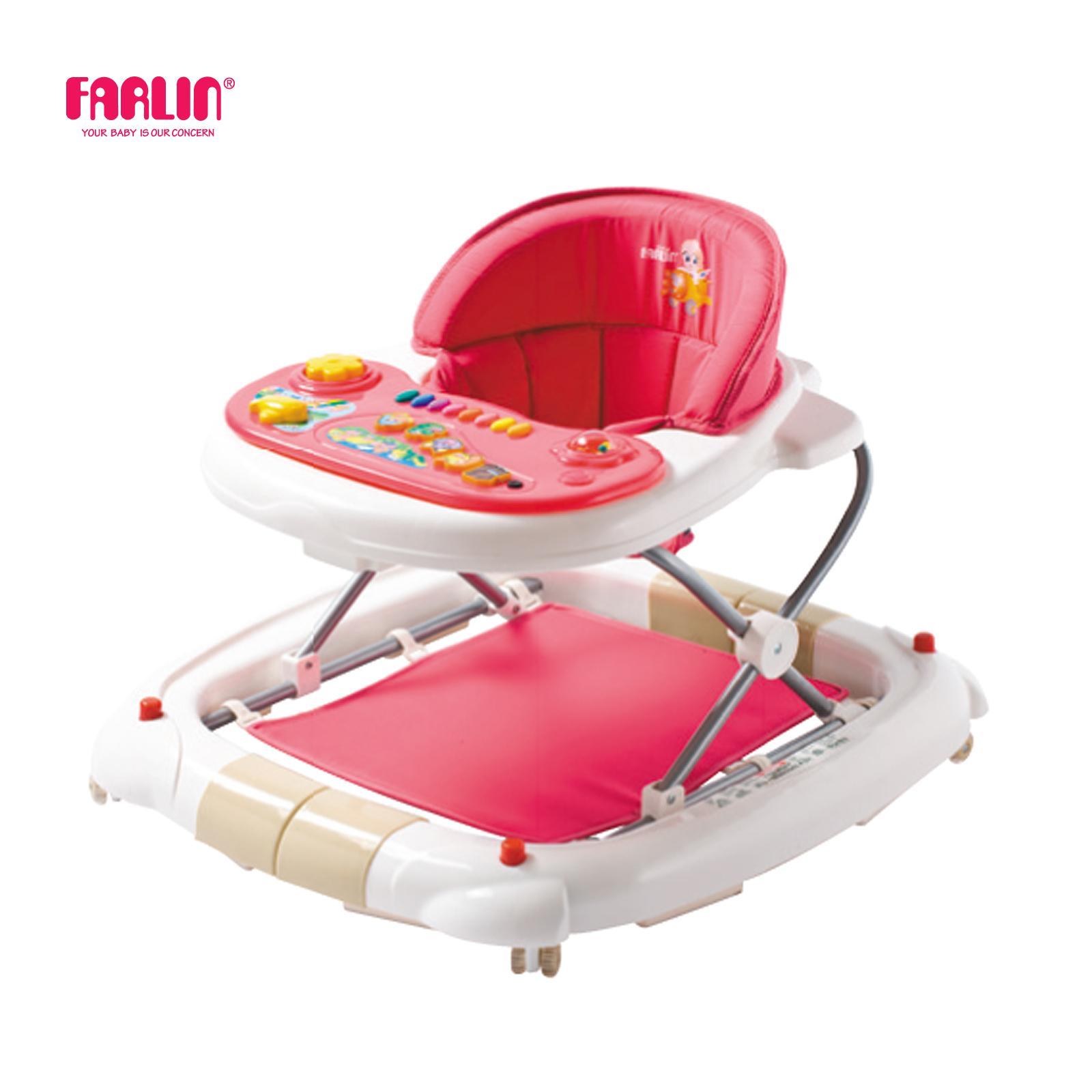Farlin 2 In 1 Baby Walker Rocker