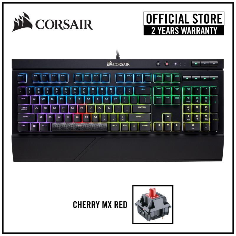 Corsair Gaming K68 RGB Mechanical Gaming Keyboard IP32 Spill Resistant - Cherry MX Red RGB Singapore