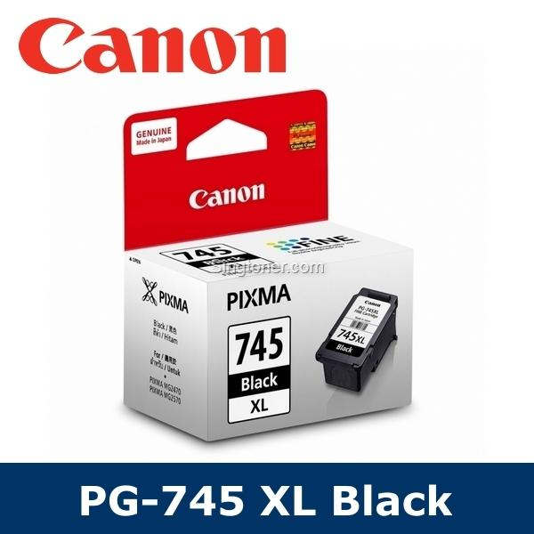 [original] Canon Pg-745xl Cl-746xl/pg745xl Cl746xl/pg 745xl Cl 746xl Black Color Ink Cartridge For Ip2870 Ip2870s Ip2872 Mg2470 Mg2570 Mg2570s Mx497 Mg2970 Ip2872 Mg2577s Mg3070 Mg3070s Ts207 Ts307 Ts3170 Ts3170s Ts3177s Tr4570s By Singtoner.