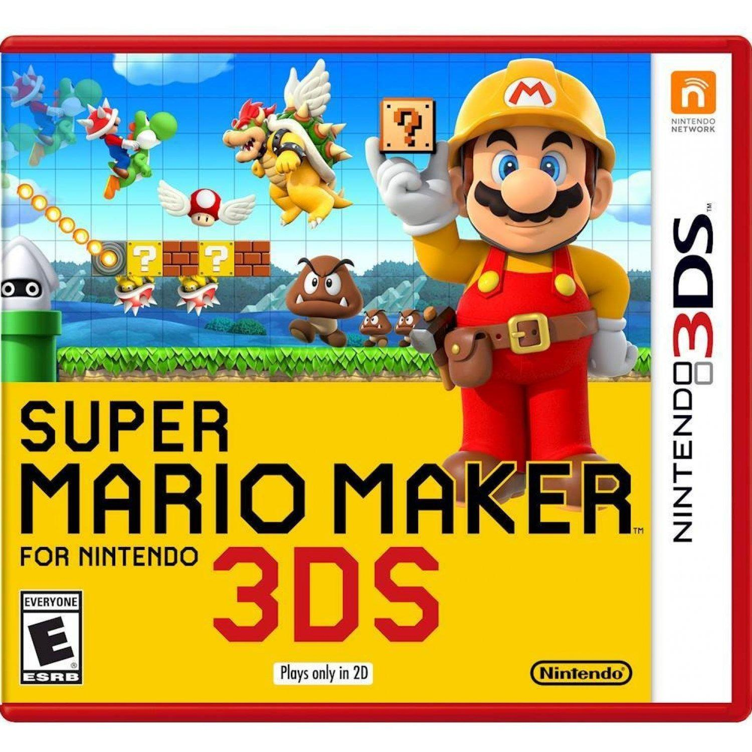 Brand New 3Ds Super Mario Maker