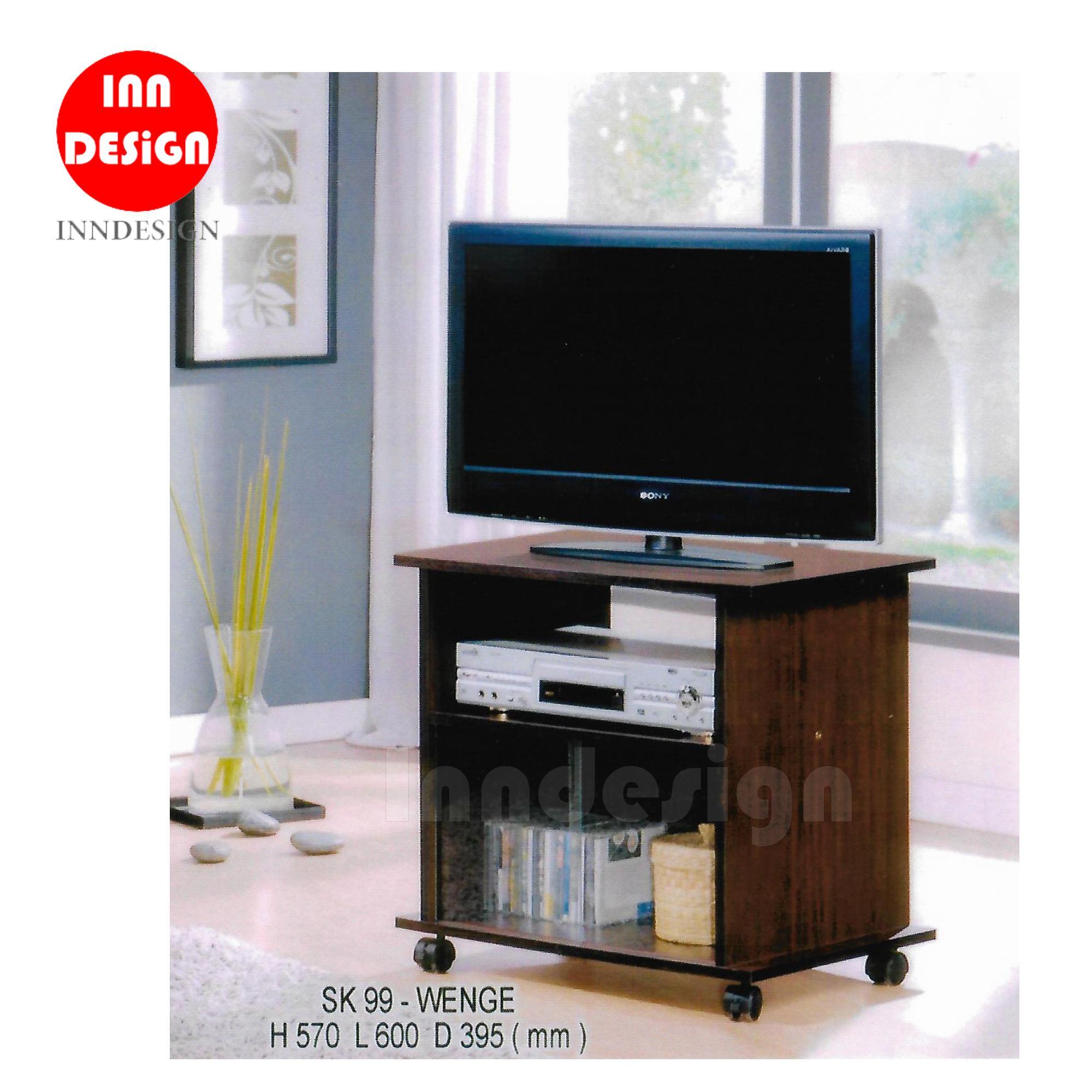 Benice 2 Tier TV Rack / TV Cabinet / TC Console