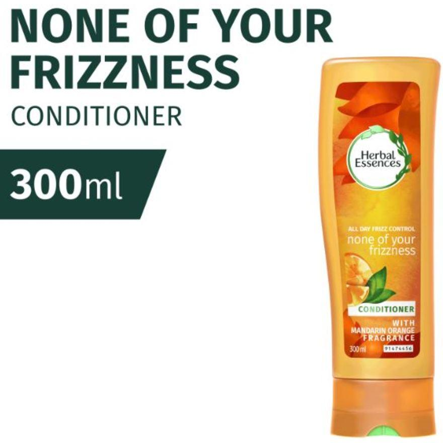 Clairol Herbal Essences None Of Your Frizzness Conditioner 300Ml