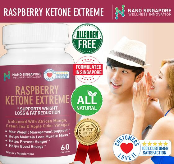 Nano Sg - Raspberry Ketone Extreme / Weight Loss * Slimming * Diet * Fat Burner * Lean Muscle * 1 Best-Selling By Nano Singapore.